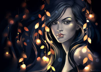 girl by sharandula