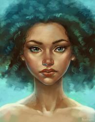 portrait by sharandula
