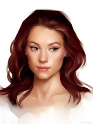Astrid Berges-Frisbey by sharandula