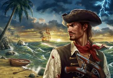 Henry Heartgold (Captain Golden Heart) by sharandula