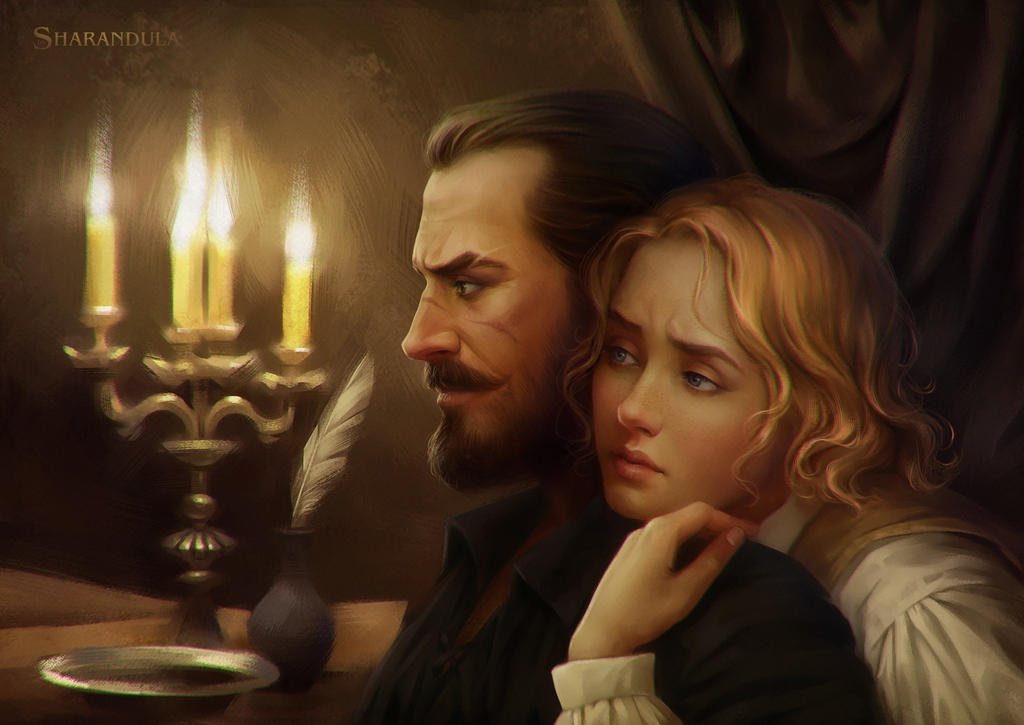 by candlelight by sharandula