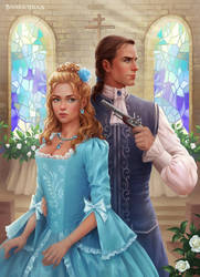 cover of the novel THE PRINCESS AND THE DRAGON