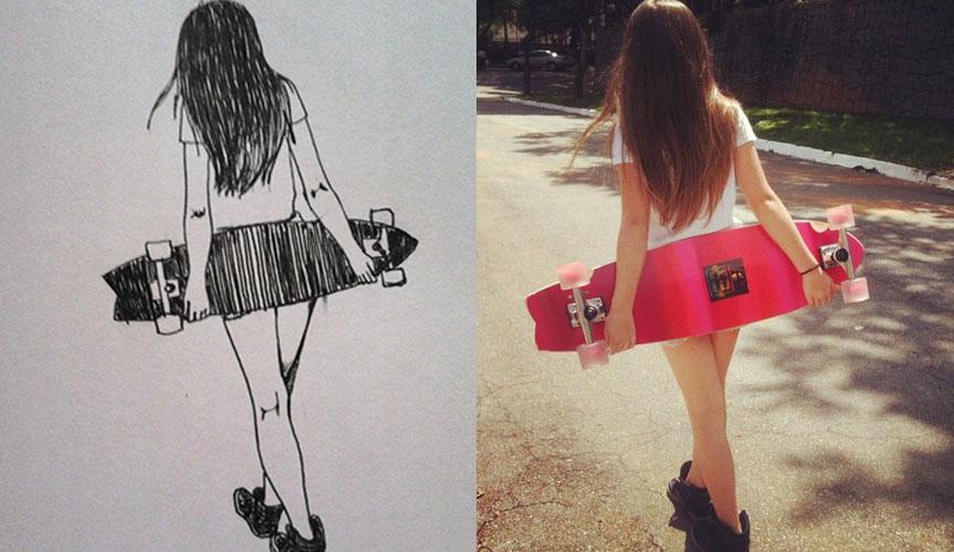 Skate girl by Angelikasan ...