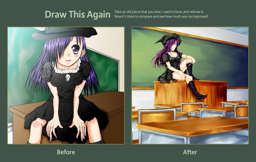 Draw this Again: Sorcery Class by Sakura-Ruri