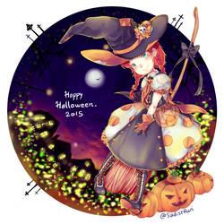 Happy Halloween 2015 by Sakura-Ruri