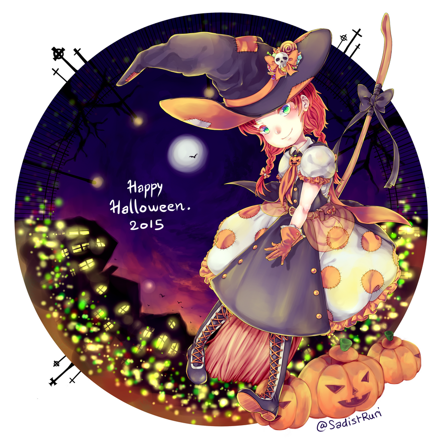 Happy Halloween 2015 by Sakura-Ruri