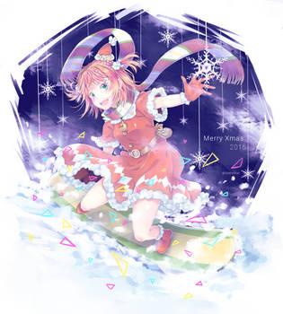 Merry Xmas 2016 by Sakura-Ruri
