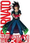Barnato (Bardock and Minato Fusion)