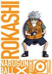Rokashi (Master Roshi and Kakashi fusion)