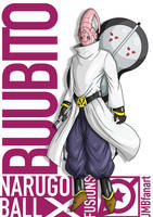 Buubito (Buu and Obito fusion) by JMBfanart