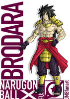 Brodara (Broly and Madara fusion) by JMBfanart