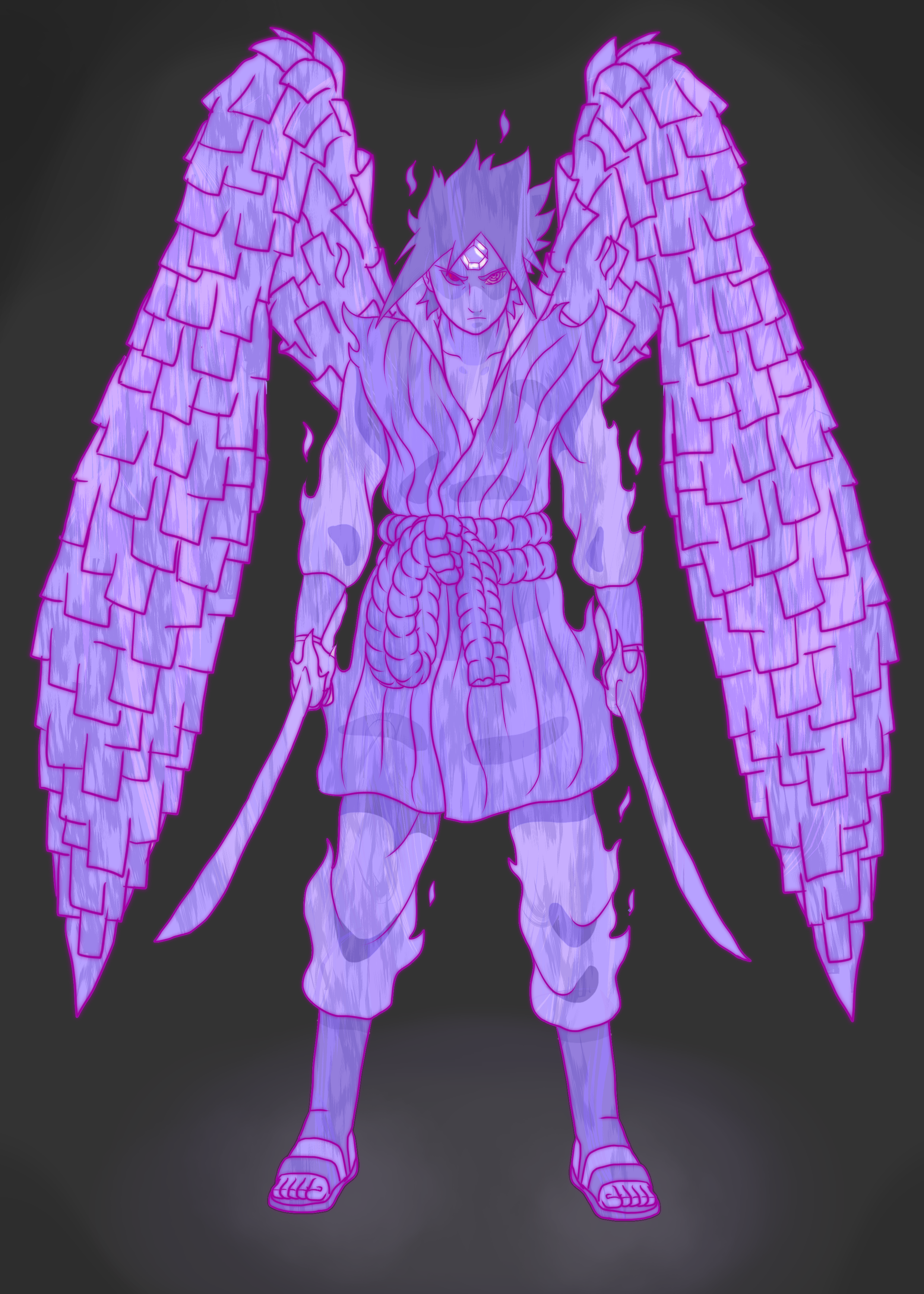 Perfect Susanoo should have been human sized like this
