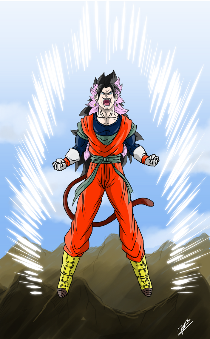 Gogetrunks - Ultimate Fusion (Color) by JMBfanart on ... Gohan And Vegeta Fusion