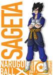 Sageta (Vegeta and Sasuke fusion)