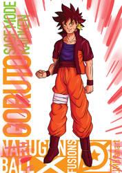 Goruto Sage Mode Kaioken by JMBfanart