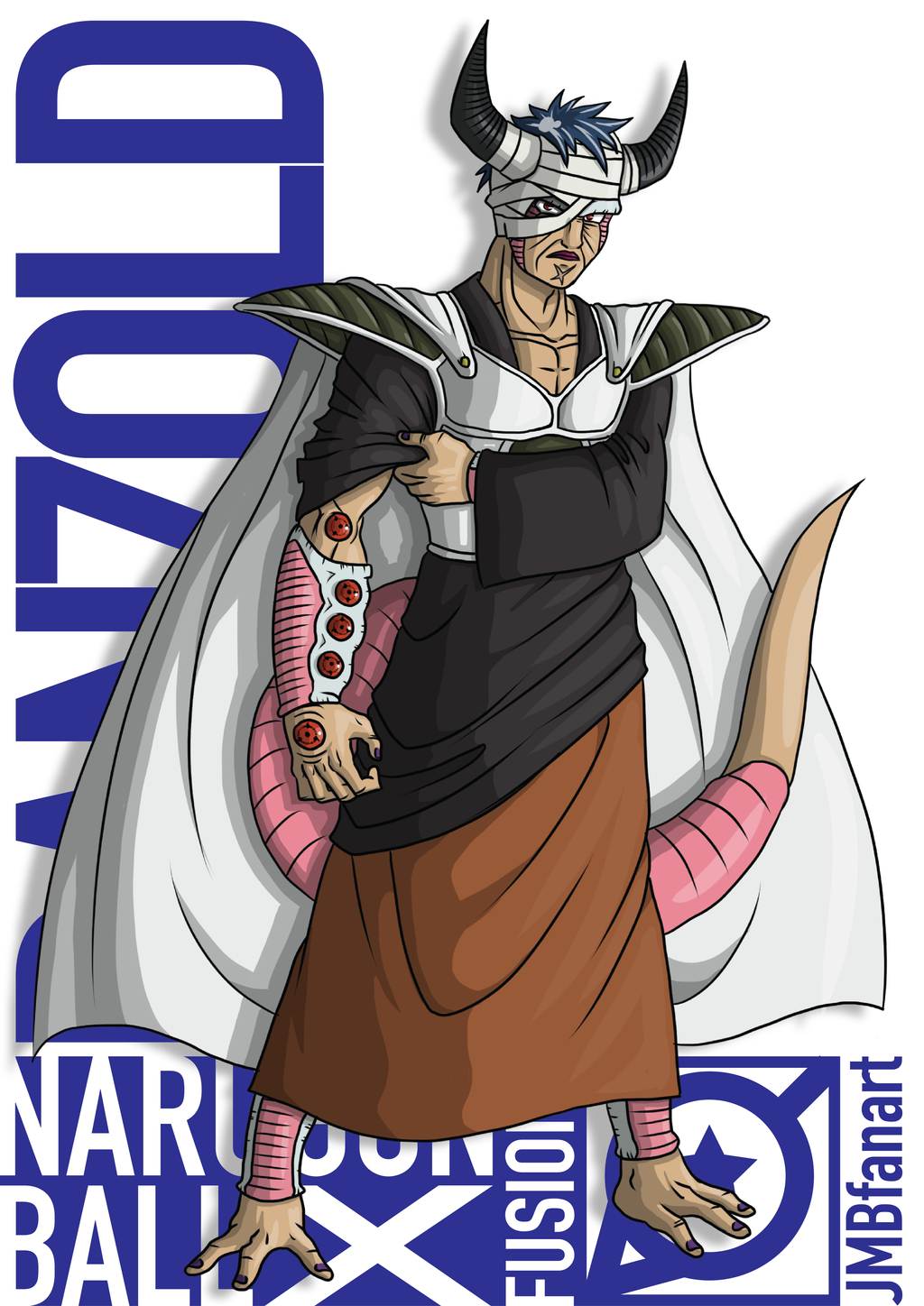 Danzold king cold and danzo fusion by jmbfanart on - Naruto and dragonball z ...