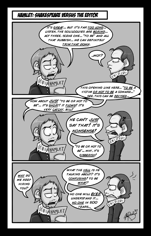 -shakespeare vs. the editor- by weird-science