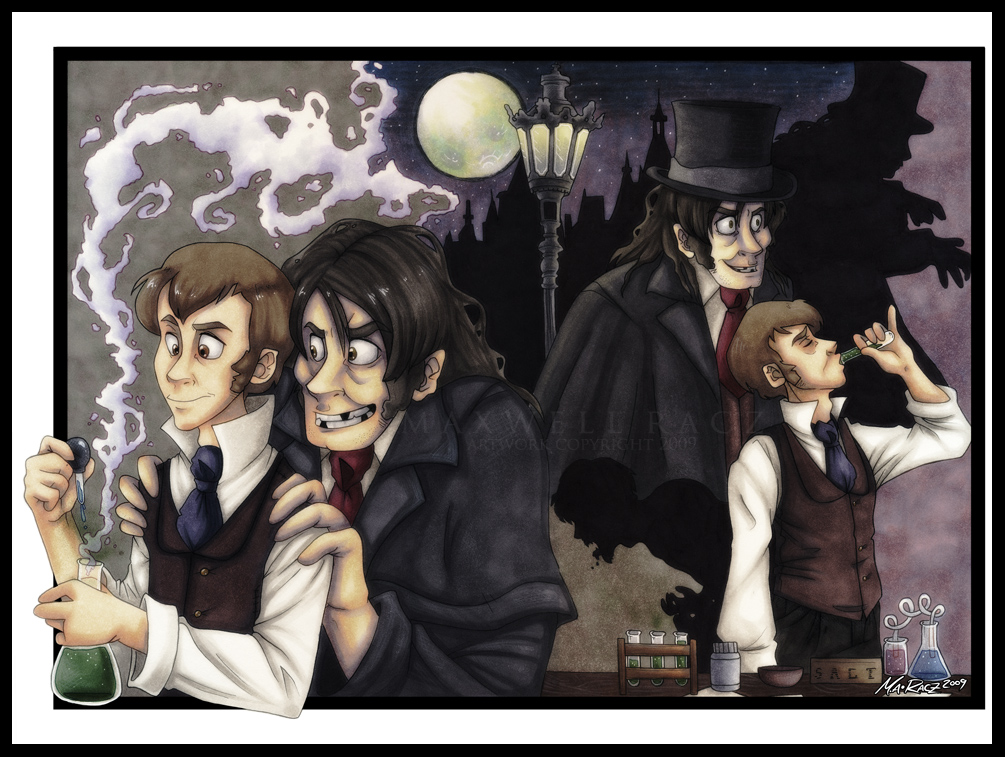 Jekyll and Hyde- by weird-science on DeviantArt