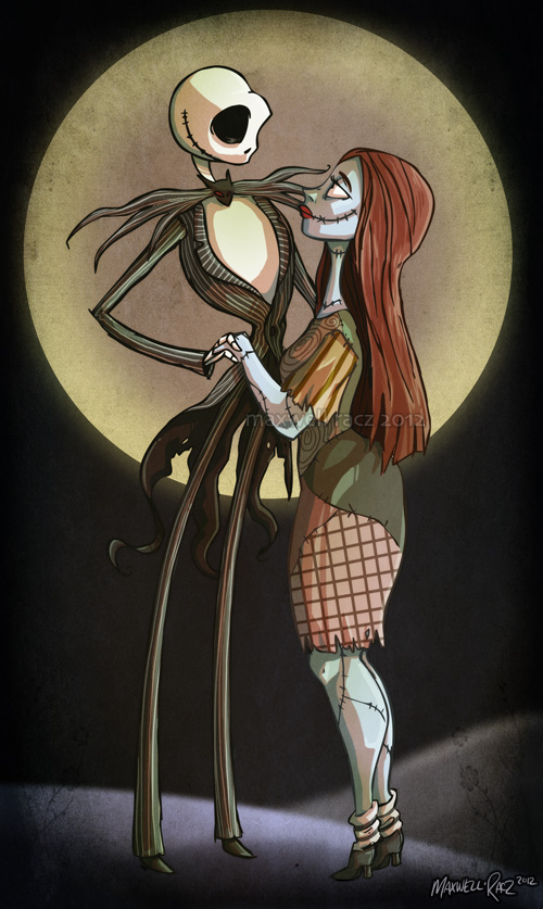 -jack and sally- by weird-science on DeviantArt