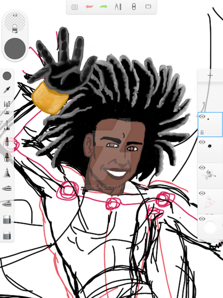 Static Shock WIP by STLOrca