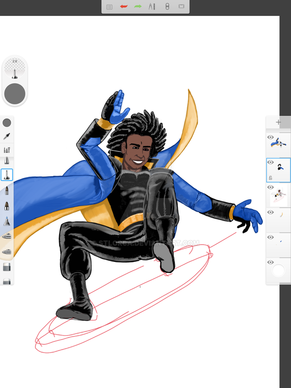 Static Shock. WIP #4 by STLOrca