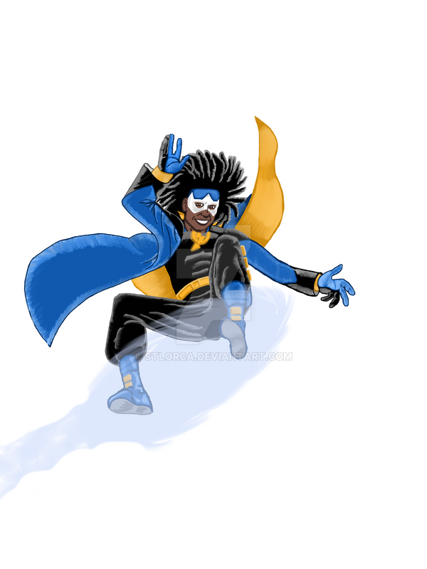 Static Shock WIP #5 by STLOrca