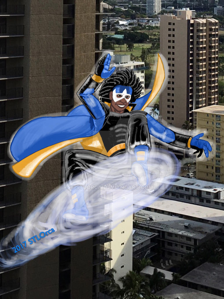 Black Power #1: Static Shock by STLOrca