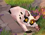 Kitten Violetpaw/Violetkit by DarkMoonRAY