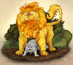 Graypaw protects Lionheart