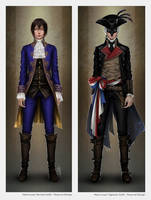 Henri-Louis Concept: Clothes by TheKucing