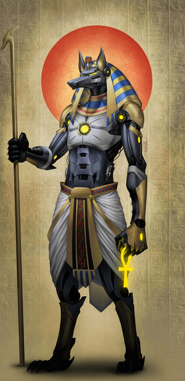 egypt Anubis tecnologico - by TheKucing DeviantArt (2017) © dell'autore