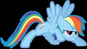 Rainbow Dash en garde