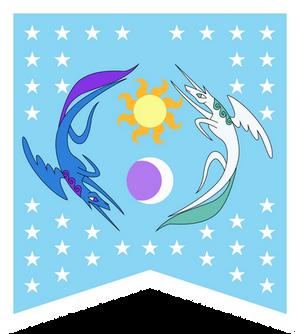 Equestrian flag