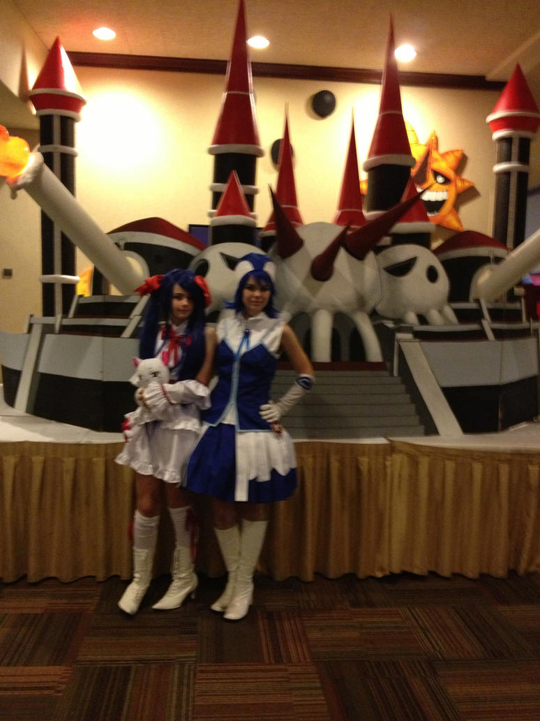Aki con 2013: Wendy and Juvia by strawberrymilkchan
