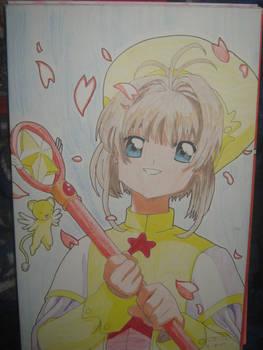 Sakura Kinomoto en Prismacolor