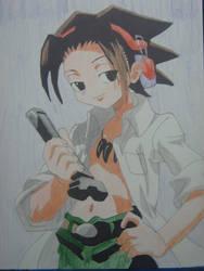 Yoh Asakura Prismacolor