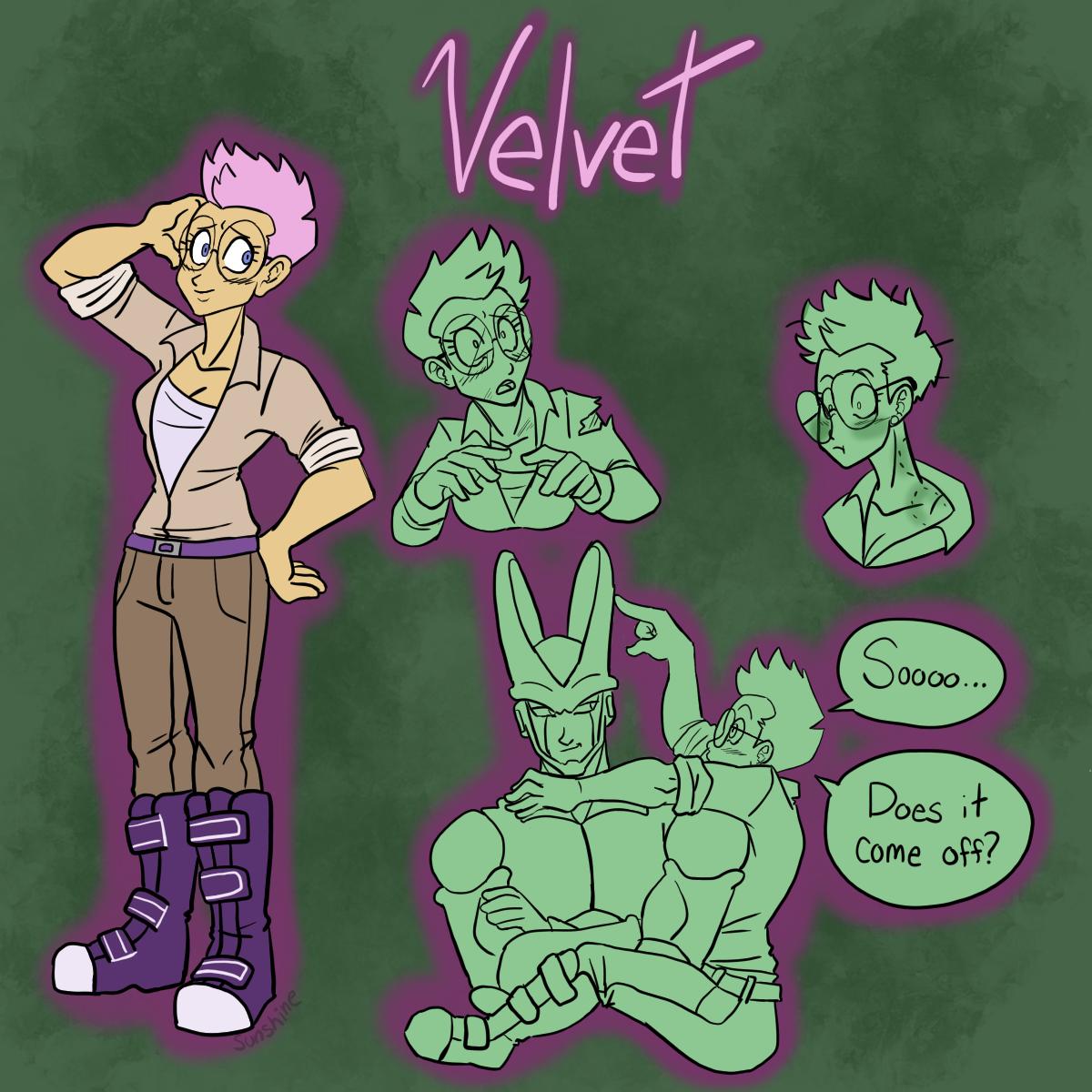 DBZ- Velvet by Sunshin3Boi on DeviantArt