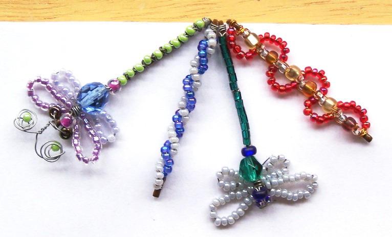 beaded bobby pin crafts