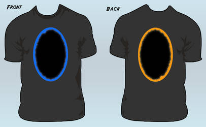 Portal T-Shirt by willmeister42