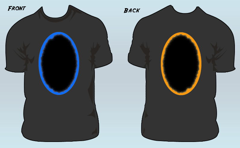 portal t shirt by willmeister42 on deviantart