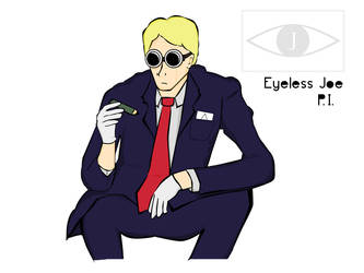 Eyeless Joe - Character Sheet by willmeister42