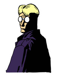 Joe - Mignolafied in Colour by willmeister42