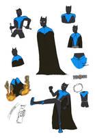 Batman Re-Design by willmeister42