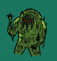 What up Man-Thing by willmeister42