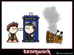 Mini Doctor Who - Teamwork