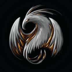 Ashen Phoenix by Opto-phoenix