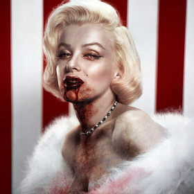 Vampire Marilyn by GingerNation952