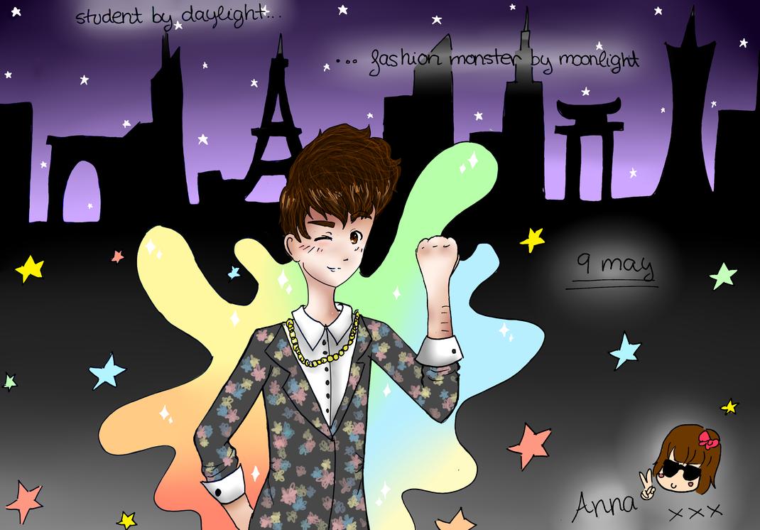 Fashion Monster by AnnaIdhunita