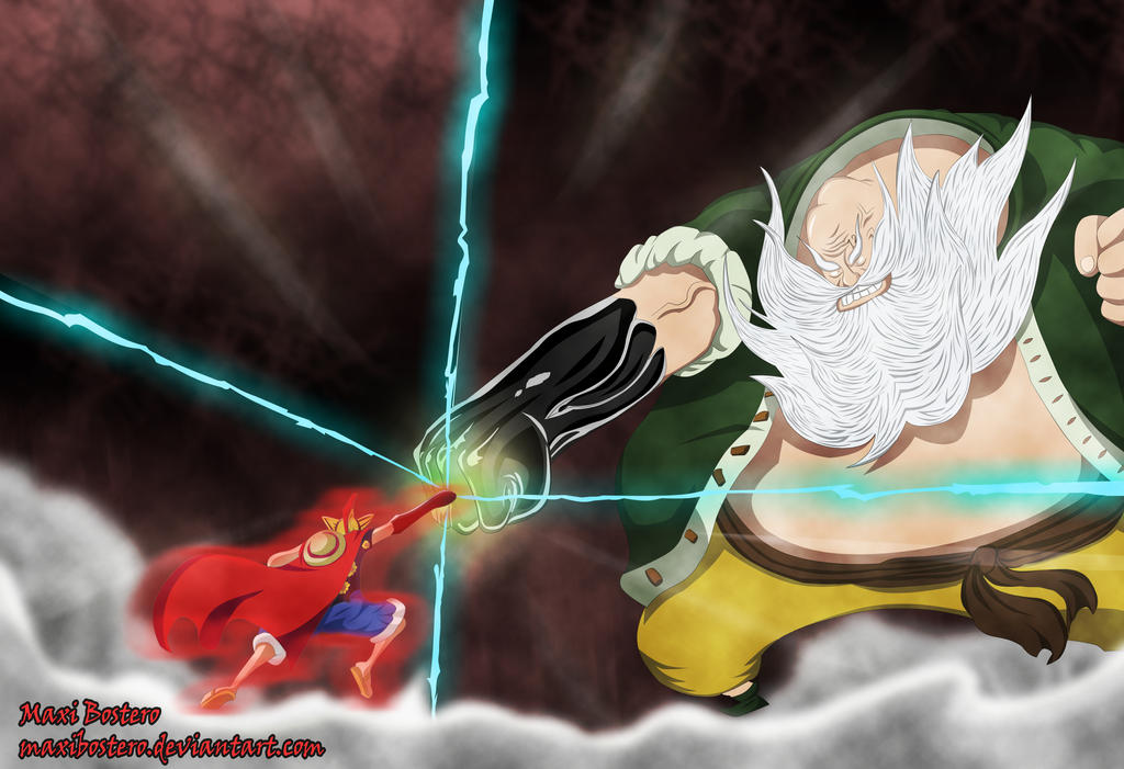 One PIece 716 Luffy vs...