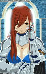 Erza Fairy tail 429 by Maxibostero